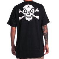 Camiseta Santa Cruz Dressen Crossbones Preto