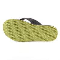 Chinelo Oakley Keel Sulphur Preto/Verde Neon
