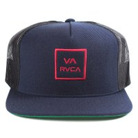Boné Rvca Snap All The Wal Azul