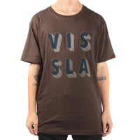 Camiseta Vissla Stacked Chocolate