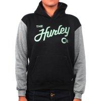 Moletom Hurley Canguru Preto