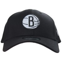 Boné New Era Nets Brooklyn Preto