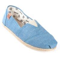 Alpargata Perky Light Chambray Corda Azul Jeans