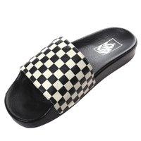 Chinelo Vans Slide-on Checkerboard Preto/Branco