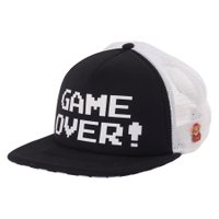 Bone Vans Nintendo Game Over Preto/Branco