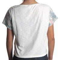 Camiseta Roxy Vintage Pinapple Waves Branco