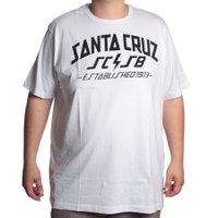 Camiseta Santa Cruz Big Hq Branco