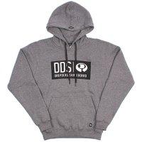 Moletom Drop Dead DDD Logo 1 Cinza Mescla Escuro
