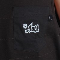 Regata Lost Pocket Preto Vintage