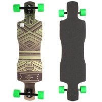 Longboard W7 Cush Speed Invert Cinza/Verde