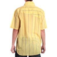 Camisa Volcom Factor Stripe Amarelo