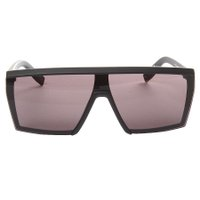 Óculos Evoke Futurah Matte Total Preto Fosco/Dourado