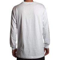 Camiseta Grizzly M/L Protected Branco