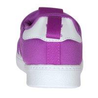 Tenis Adidas Superstar 360 Infantil Roxo/Branco