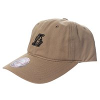 Boné Mitchell & Ness Los Angeles Lakers Khaki