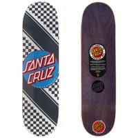 Shape Santa Cruz Power Lite Check Stripe 8.8 Cinza/Branco