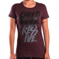 Camiseta Child Posca Vinho