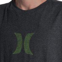 Camiseta Hurley Logo Icon Mescla Escuro