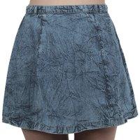 Saia Vans Banquet Skirt Azul Claro