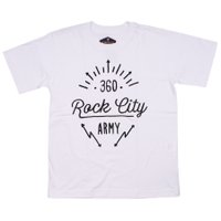 Camiseta Rock City 360 Inf Branco
