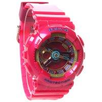 Relógio Casio Baby-G BA-112-4ADR Rosa/Verde