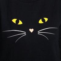 Moletom Vans Careca Here Kitty Kitty Preto