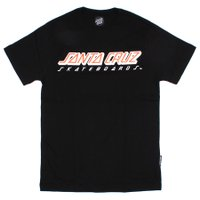 Camiseta Santa Cruz Classic Stripe Preto