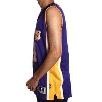 Regata Adidas Swingman NBA 24 Roxo/Amarelo