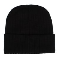 Gorro Independent Cross Ribbed Preto