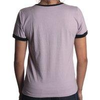 Camiseta Vans Ringer 22 Batter Up 3 Sea Fog Roxo