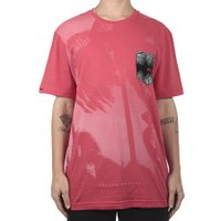 Camiseta Globe Bolso Coqueiro Coral