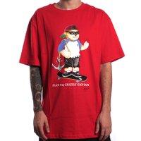 Camiseta Grizzly Plan B Sheckler Bear Vermelho