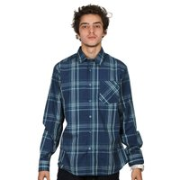 Camisa Volcom M/L Factor Plaid Azul