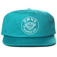 Boné Diamond DMND Trader Verde Àgua
