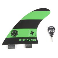 Quilha Fcs Performance Glass Jf-1 Preto/Verde