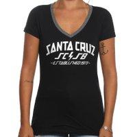 Camiseta Santa Cruz Gola V HQ Preto
