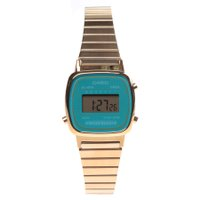 Relógio Casio Vintage LA670WGA-2DF Dourado/Azul