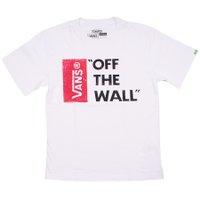 Camiseta Vans Off The Wall Juv. Branco
