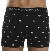Cueca Boxer Diamond Brilliant Briefs Preto