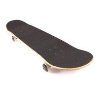 Skate Solo Montado Profissional Paz e Amor Preto
