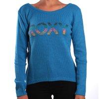 Tricot Roxy Rainbow Azul