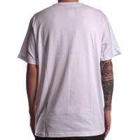 Camiseta Independent Left Chest Branco