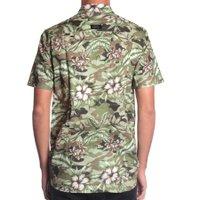 Camisa Globe Paradise M/C Verde