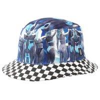 Bucket Vans Aqua Girls Azul/Xadrez