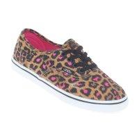 Tênis Vans Authentic Lo Pro Juvenil Leopard