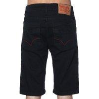 Bermuda Live Basic Jeans Preto