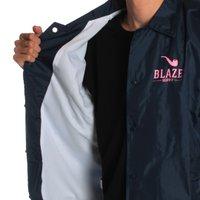 Jaqueta Blaze Windbreaker Logo Pipe Azul Marinho