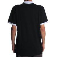 Camiseta Blaze Polo Classic Tripe Pipe Preto/Branco