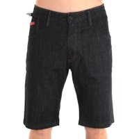 Bermuda Lost Jeans Slim Red Indigo