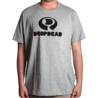 Camiseta Dropdead Big Drop Logo Mescla